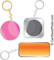 Key Bibelots - Key Trinkets with place for your Text or...