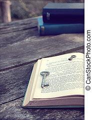 key book photo