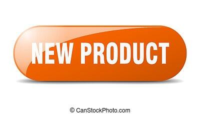 key., button., spinta, segno., prodotto, nuovo