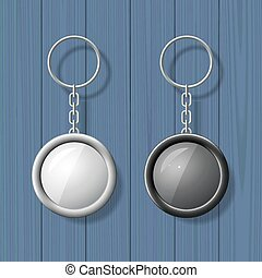 Key chain pendants mock up