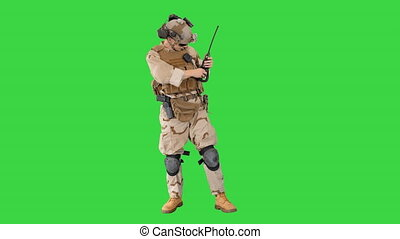 key., chroma, soldats, munitions, vérification, camouflage, ...