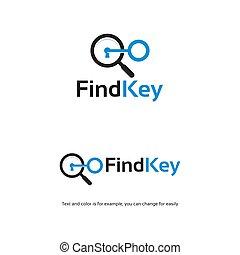 Key Finder Real estate industry Logo designs template