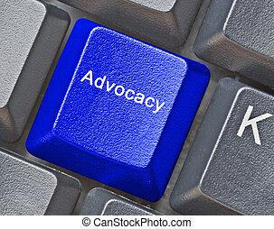 Key for advocacy
