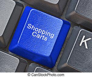 key for shopping
