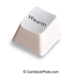 key for wealth