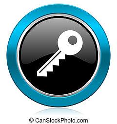 key glossy icon