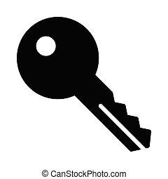key glyphs icon