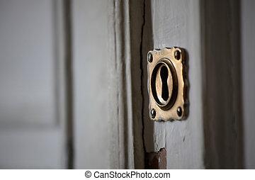 key hole