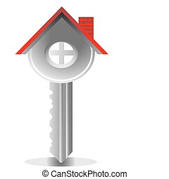 key house, real estate - house key, real estate business ...