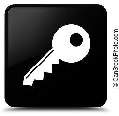 Key icon black square button