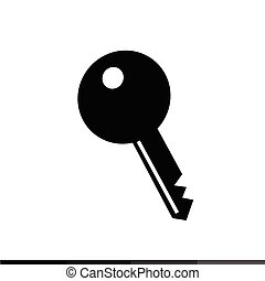Key Icon Illustration design