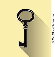 Key in flat