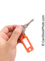 Key in hand.
