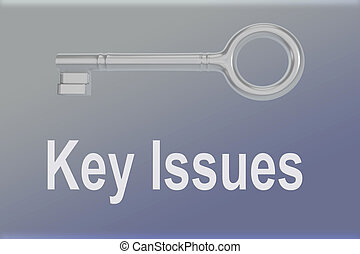 Key Issues concept