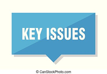 key issues price tag - key issues blue square price tag