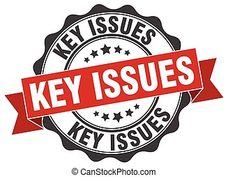 key issues stamp sign seal