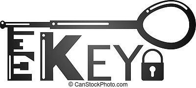 key lock symbol