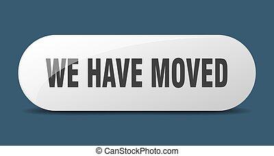 key., nós, button., empurrão, ter, sinal., movido