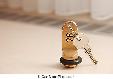 Key of a room