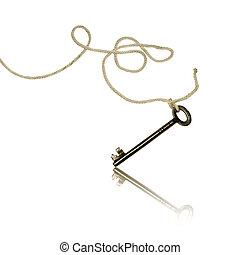 Key on a rope
