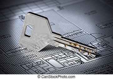 Key on Blueprint