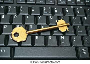 Key on keyboard