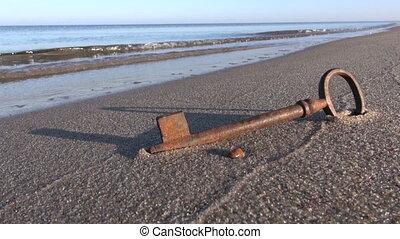 key on sea resort beach sand