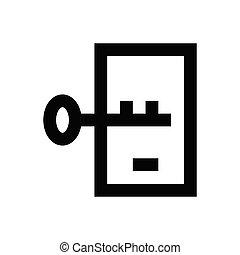 key  pixel perfect icon