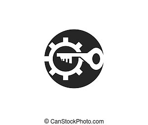 Security service badge template Stock Illustration | csp56998502