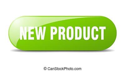 key., spinta, segno., nuovo, button., prodotto