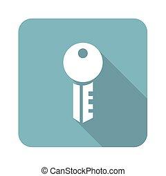Key square icon