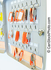 many keys hang - Key storage metal box, many keys hang