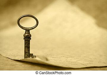 Key - success symbol