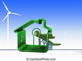 Key to Alternative Energy, Concept