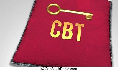 Key to CBT concept shot