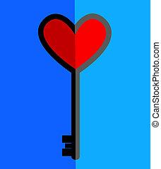 key to love