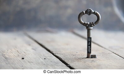 key to my heart idea - Key to my heart- inscription and old...