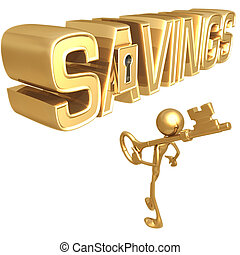 Key To Savings