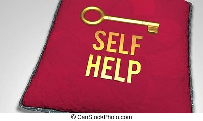 Key to self help concept