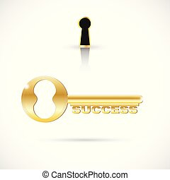 Key to Success Illustration