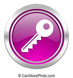 key violet icon