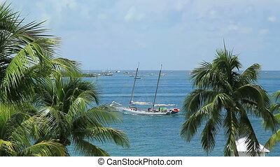 Key West Florida Ocean View Summer time