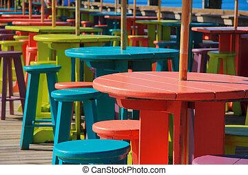 Key west pier - Color for pier of key west , florida , USA.