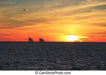 Key West Sunset - Florida - USA