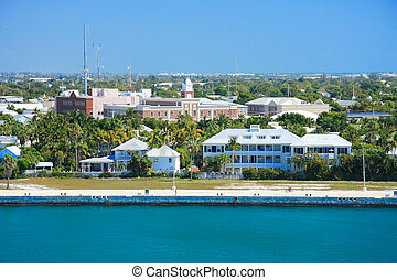 Key wesy beach - Vacation day in Key west , with funny ship...