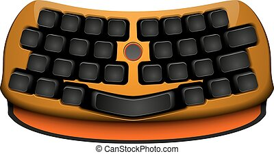 keyboard abstract