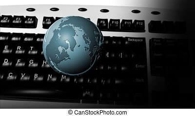 KEYBOARD AND GLOBE 4