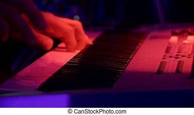 Keyboard at Concert