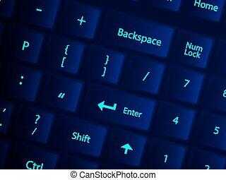 keyboard background