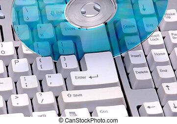 Keyboard & CD